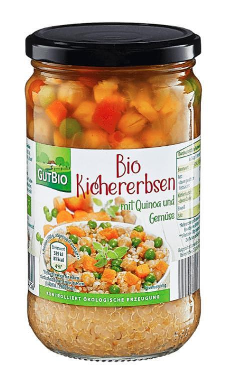Recall in the case of Aldi Nord: In chickpeas, glass fragments may be