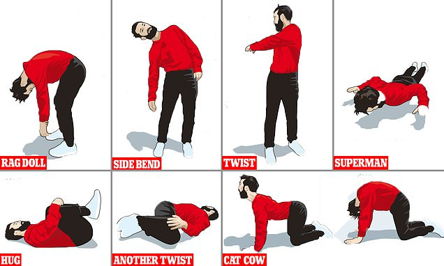 Cooped up with a bad back? An osteopath's top tips to ease your agony