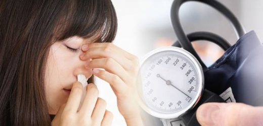 High blood pressure: Blood from this body part is a warning
