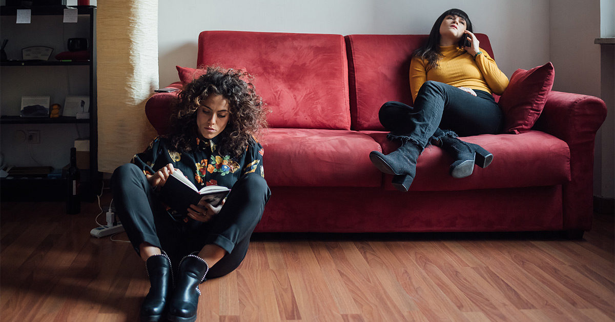 Don't Put Off Talking to Your Roommate About Social Distancing