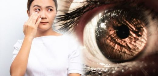 Coronavirus symptoms: Do your eyes look like this? The warning symptom of COVID-19