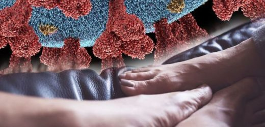 Coronavirus symptoms: Do your feet look like this? COVID toes explained by experts