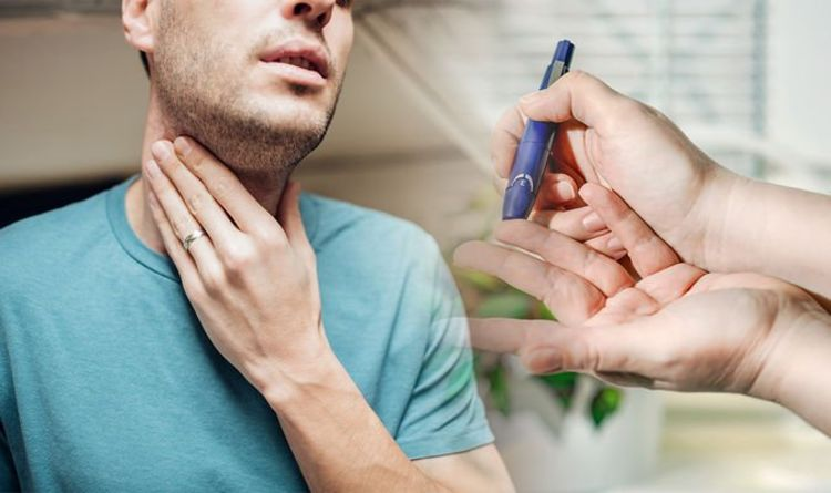 Type 2 diabetes symptoms: The sign in your neck that could signal the chronic condition