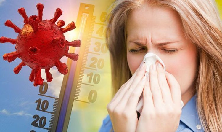 Coronavirus or hay fever symptoms: The key difference in the two conditions