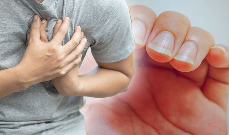 Heart attack warning – how your fingernails could reveal your risk of deadly heart disease