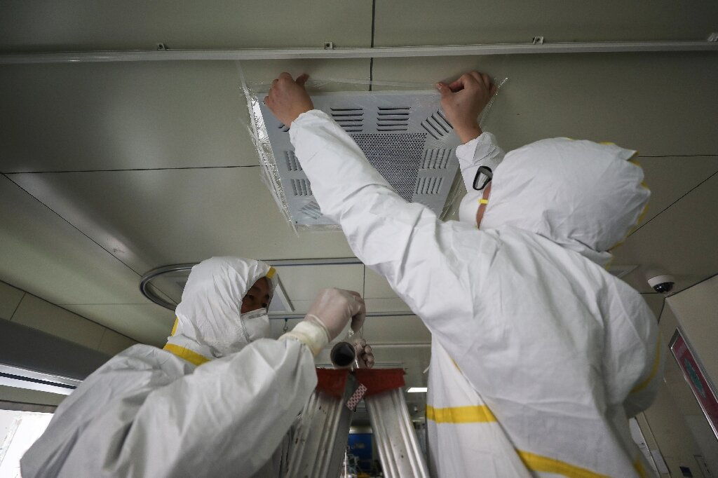 Scientists report that airborne coronavirus is probably infectious