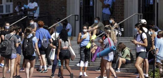 Universities scramble to deal with virus outbreaks