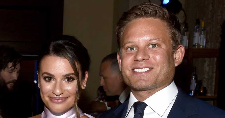Lea Michele Gives 1st Glimpse of Her and Zandy Reich's Baby Boy Ever