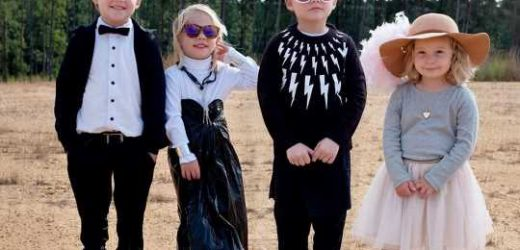 Mother of Three Shares Adorable Photo of Kids' DIY Schitt's Creek Costumes After Emmys Sweep