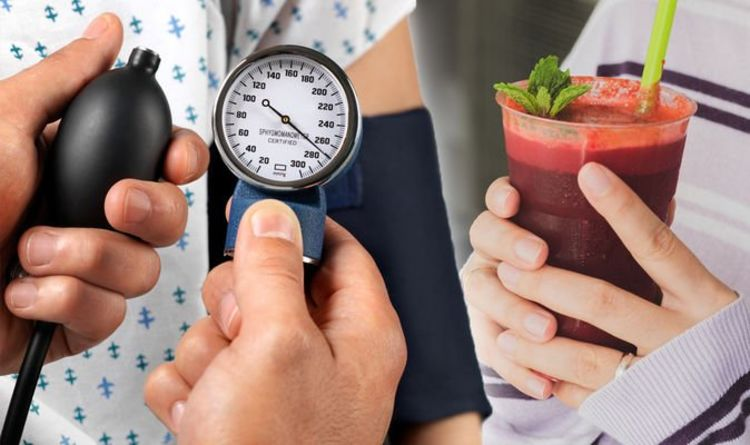 The 84p breakfast juice to protect against deadly high blood pressure symptoms at home
