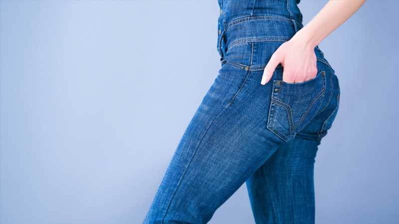 Here's how to save jeans that are too stretched out