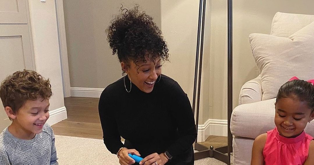Tamera Mowry: How I'm Maintaining Normalcy for My Kids This Holiday Season