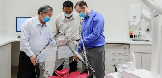 Researchers develop foldable tent for safe dental care during the pandemic