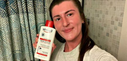 Eucerin's Eczema Relief Cream Body Wash Is Easily One of My Favorite Launches of 2020