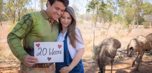 Pregnant Bindi Irwin and Husband Chandler Powell Celebrate First Christmas as a Married Couple