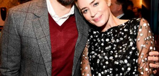 Emily Blunt Is 'Over the Moon' About Daughters Picking Up British Accents at Their London School