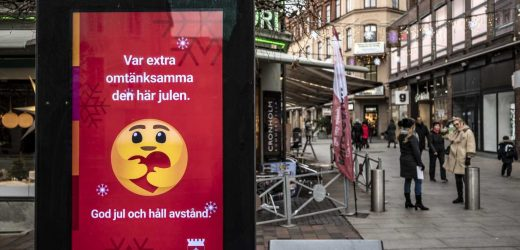 PM: Sweden's health officials misjudged new infection wave