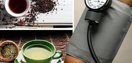 High blood pressure: Green or black? The most effective tea to lower your reading