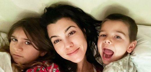 Sweet Snuggles! Kourtney Kardashian's Funniest Pics With Son Reign