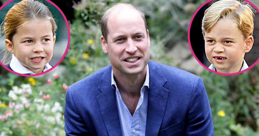Prince William Reveals If Princess Charlotte or Prince George Is 'Cheekier'