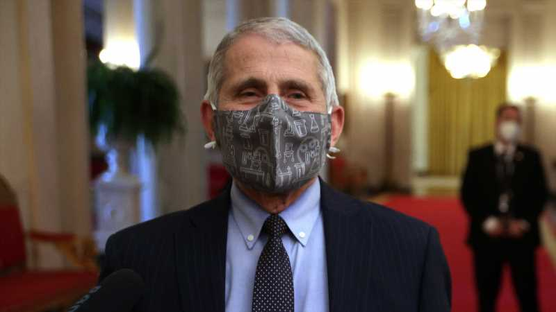 Why Dr. Fauci Thinks You Should Wear Two Masks