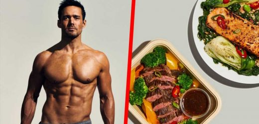 The Diet That Helped This British Reality Star Burn Fat and Build 6-Pack Abs