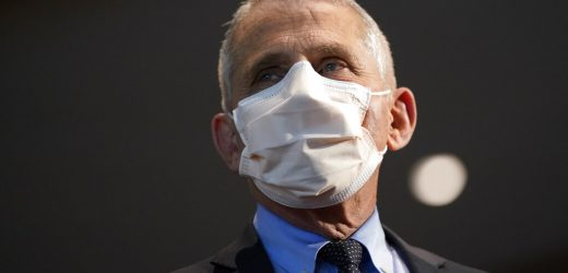Fauci backs 'double-masking' in coronavirus fight, says 'likely more effective'