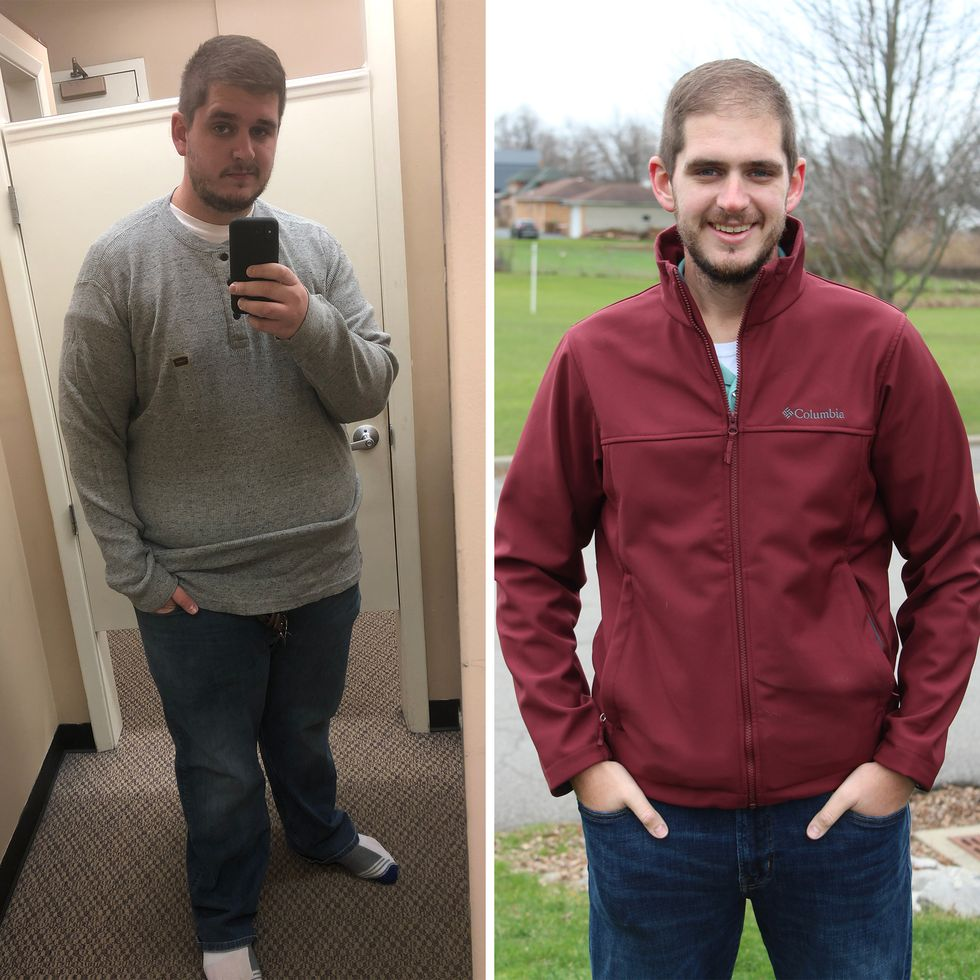 He Wanted to Be a Healthier Role Model for His Kids, So He Ran Off 190 Pounds