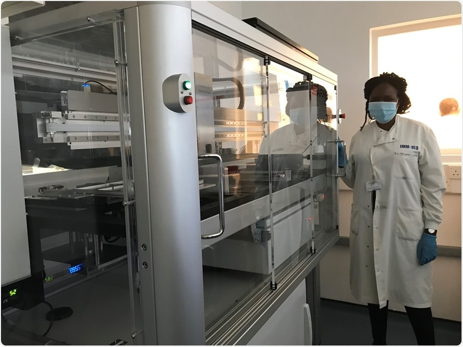 Arrayjet plays a key role in the development of anti-malarial vaccination