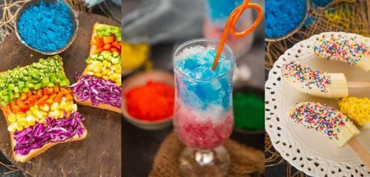 Holi recipes for kids: Try these three colourful treats