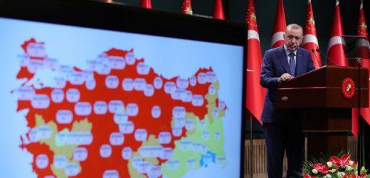 Turkey logs highest new coronavirus cases since beginning of pandemic