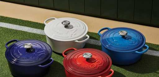Le Creuset Launches New MLB Dutch Ovens for the Ultimate Foodie Baseball Fan