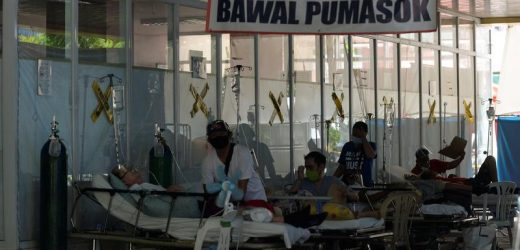 Philippine hospitals struggle to cope as more severe COVID-19 wave hits