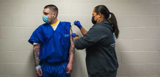 Some County Jail Inmates See Vaccination as Ticket to a Better Life — In the State Pen