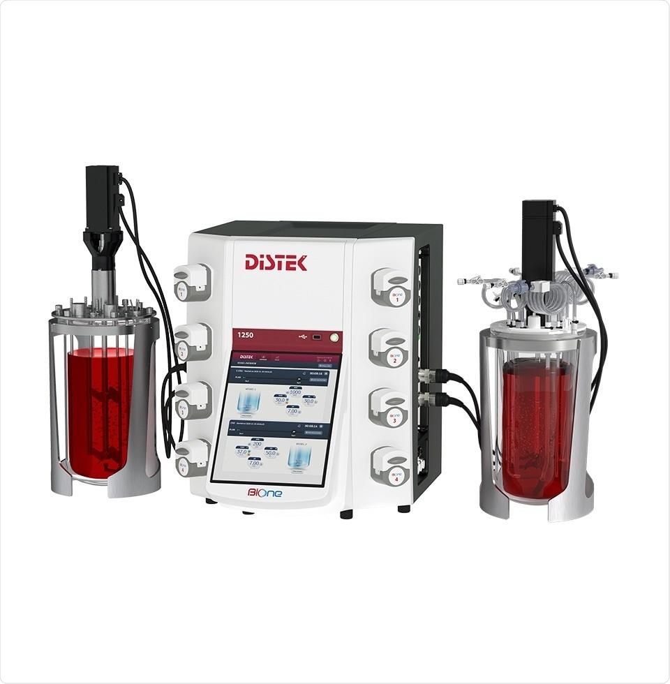 Distek, Inc. Releases BIOne 1250 Dual  Bioprocess Control Station