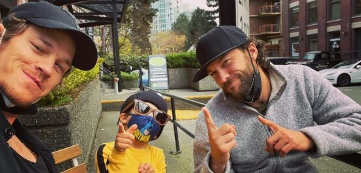 Bat Boy! See Ryan Dorsey and Son Josey's Cutest Pics