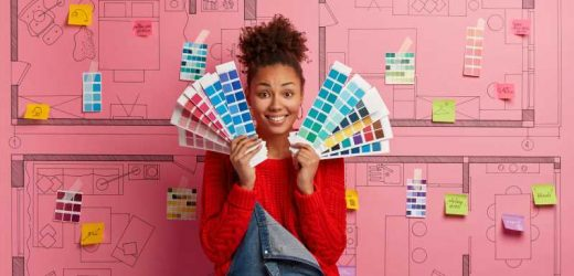 Here Are The Colors You Should Use If You're Decorating A Creative Space