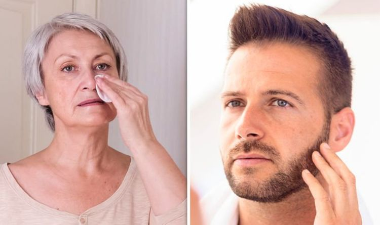 High cholesterol: Two marks on the face warning of familial hypercholesterolemia