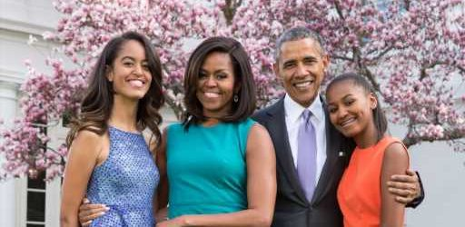 Barack & Michelle Obama Posted the Sweetest Birthday Tributes to Daughter Sasha