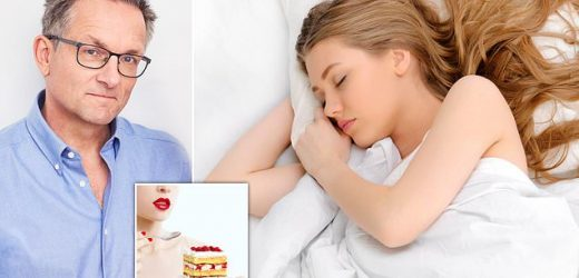 Why you need to sleep more to eat less, according to Dr MICHAEL MOSLEY