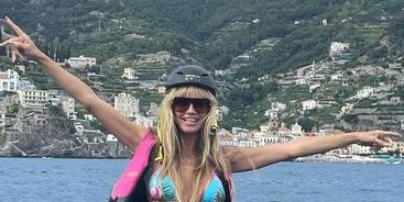 Heidi Klum, 48, Looks Sculpted All Over Jet Skiing In A Bikini In Instagram Vacation Photos