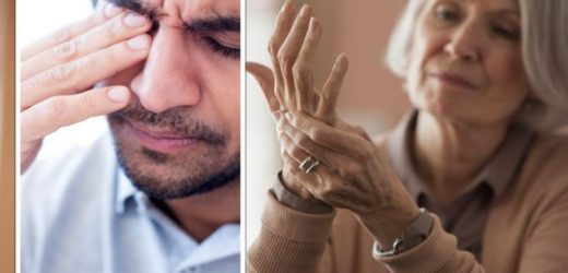 Arthritis symptoms: Four signs of rheumatoid arthritis you might not recognise