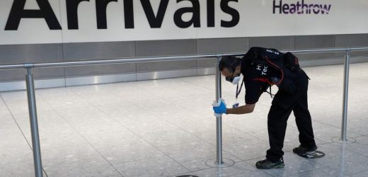 England eases COVID-19 testing rules for most incoming passengers from Oct. 24